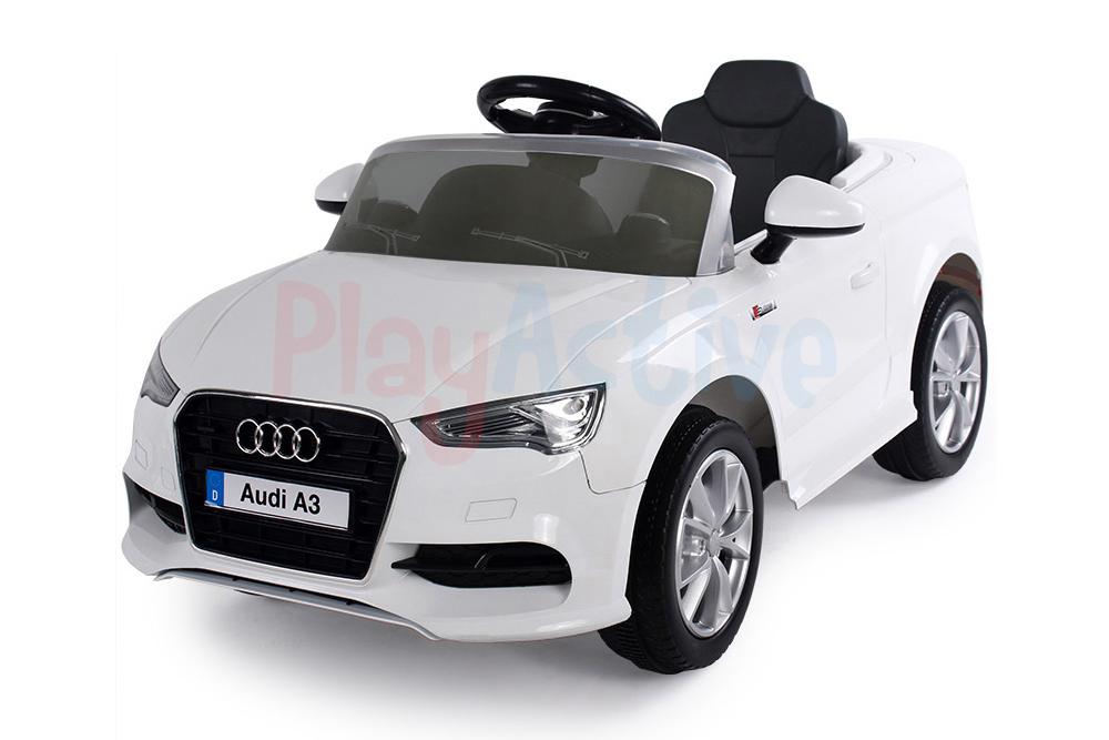 audi a3 licensed kids ride on car 12v twin motor battery 2. Black Bedroom Furniture Sets. Home Design Ideas